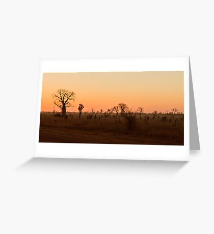 Kimberley Sunset Greeting Card