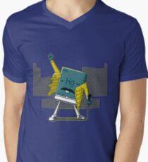 Freddy Mercury [Detailed Version] Men's V-Neck T-Shirt