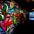 graffiti wall II by H J Field