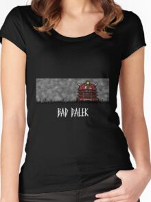 Bad Dalek Women's Fitted Scoop T-Shirt