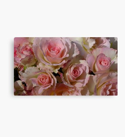 Seduction Roses Canvas Print