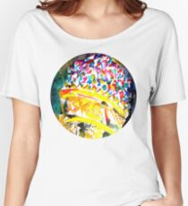 big ice cream  Women's Relaxed Fit T-Shirt