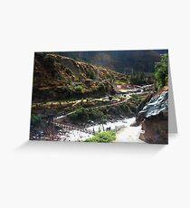 Inca Trail - Km82 Start of Trek Greeting Card