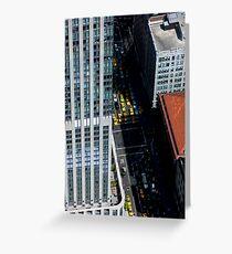 New York City Street Greeting Card