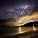 Many stars and a Milky way  by Robert-Todd