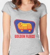 Golden Fleece logo  Women's Fitted Scoop T-Shirt