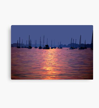 Poole Harbour Canvas Print