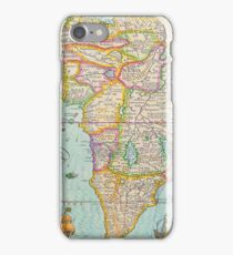 Vintage Antique Map of Africa iPhone Case/Skin