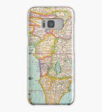 Vintage Antique Map of Africa Samsung Galaxy Case/Skin