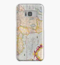 Vintage Antique Map of Africa Circa 1610 Samsung Galaxy Case/Skin