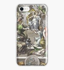 Vintage Antique Atlas Cover iPhone Case/Skin