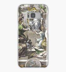 Vintage Antique Atlas Cover Samsung Galaxy Case/Skin