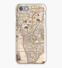 Vintage 17th Century Map of Africa iPhone Case/Skin