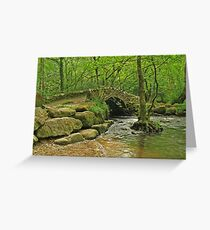 Packhorse bridge Greeting Card