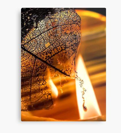 Dark Flames Metal Print
