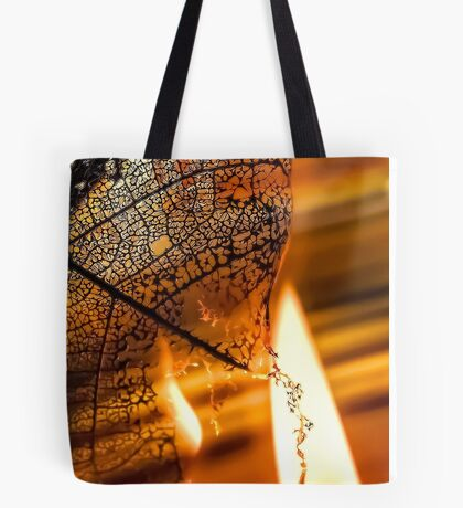 Dark Flames Tote Bag