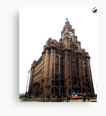 Liver Building, Liverpool Canvas Print
