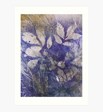 Shagbark and Wild Grape Sweetness Art Print