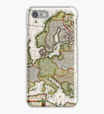 Antique Map of Europe iPhone Case/Skin