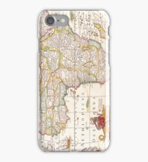 Antique Map of Africa iPhone Case/Skin