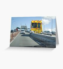 """Lane Directional Changer"" Greeting Card"