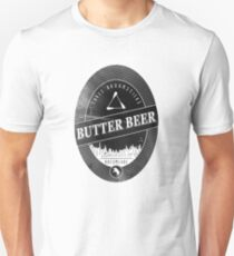 BUTTERBEER - Hogsmede Brew Black Label  T-Shirt