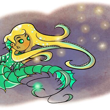 Talulah the Mermaid by Flatbearables