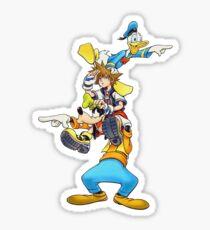 Kingdom Hearts: Where To Now? Sticker
