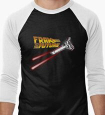FRAK to the FUTURE (v2) Men's Baseball ¾ T-Shirt