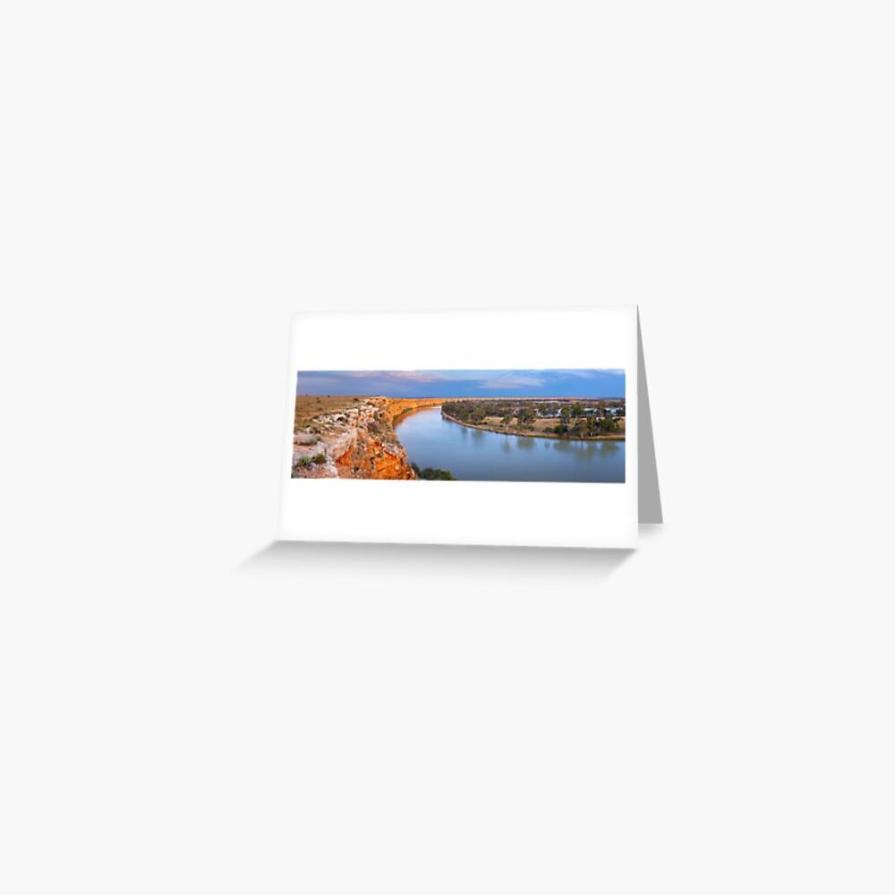 Murray River Big Bend, South Australia Greeting Card
