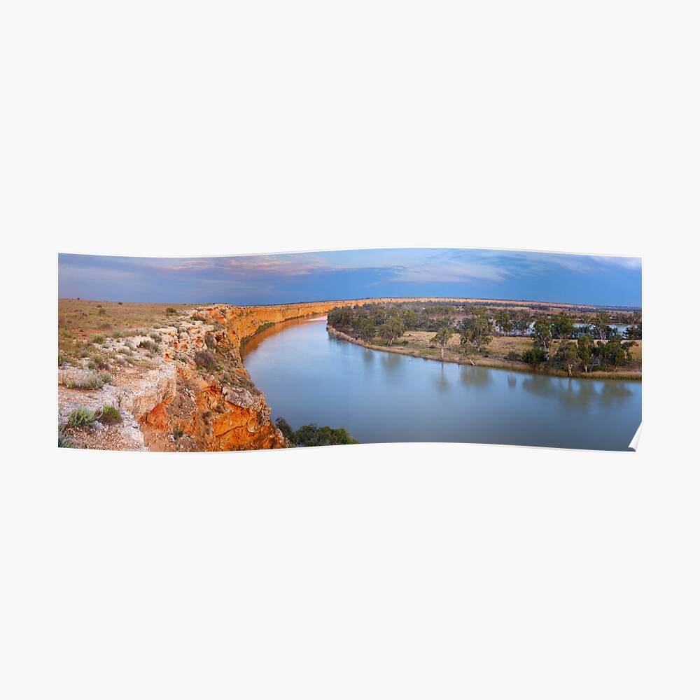 Murray River Big Bend, South Australia Poster