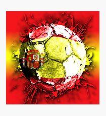 football spain Photographic Print