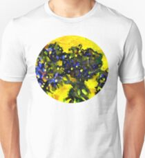 Garden flowers in the yellow sunlight T-Shirt