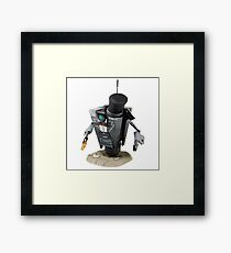 Fancy Butler Claptrap bot Framed Print