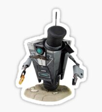 Fancy Butler Claptrap bot Sticker