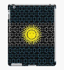 digital Flag Argentina iPad Case/Skin