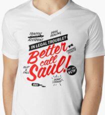 Better Call Saul Men's V-Neck T-Shirt