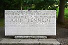 John F Kennedy Memorial by Carol Bleasdale