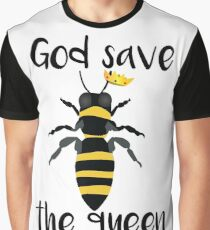 God Save the Queen Bees Graphic T-Shirt