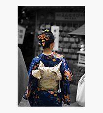 Kimono Photographic Print