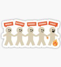 On Fire Sticker