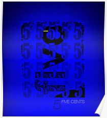 Five Cents Poster
