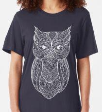 White owl Slim Fit T-Shirt