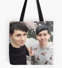 Japhan Dan and Phil - ALL PRODUCTS AVAILABLE Tote Bag