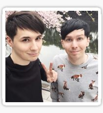 Japhan Dan and Phil - ALL PRODUCTS AVAILABLE Sticker