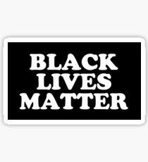 Pegatina Las vidas negras importan