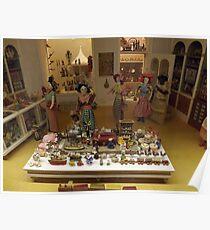 Model Toy Store, Miniature Toys, Museum of International Folk Art, Santa Fe, New Mexico  Poster