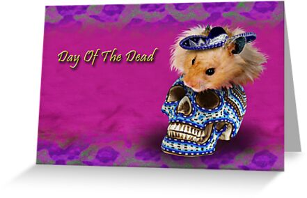 Day of the Dead Hamster by jkartlife