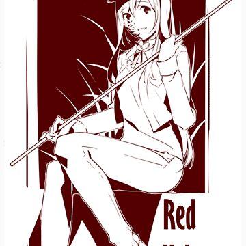 red velvet katawa shoujo hanako white by mikrovilli