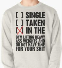 Relationship status GYM Pullover